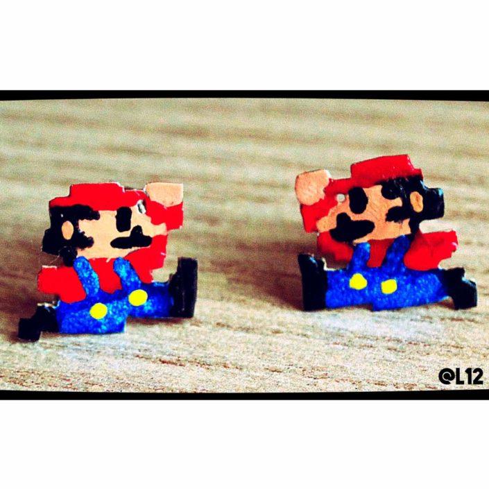 Aretes Mario Bross