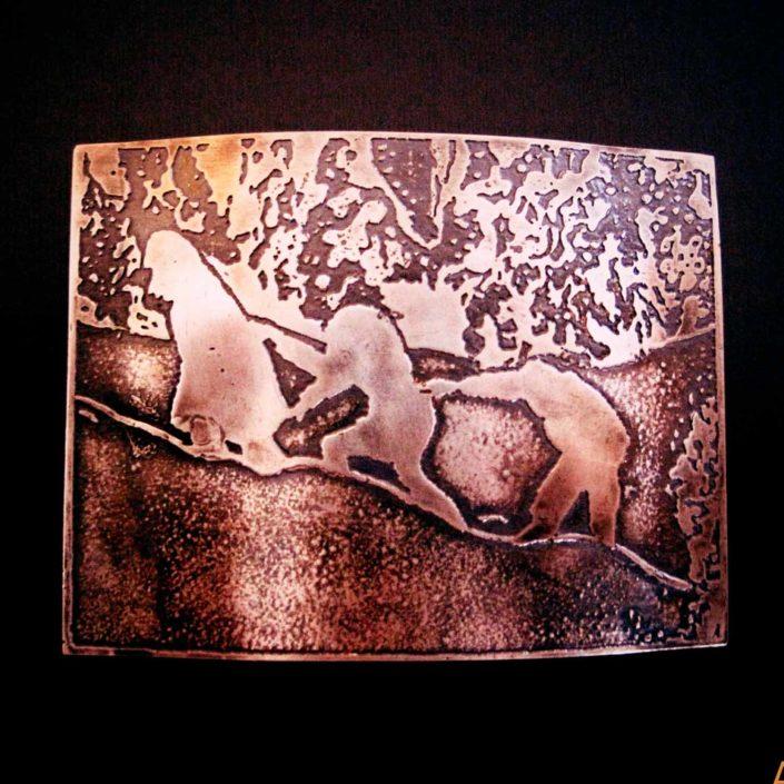 Broche de plata