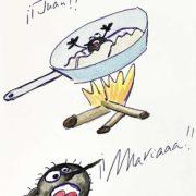 El piojo Juan y la pulga María